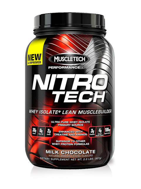 MUSCLETECH-Performance Series Nitro Tech choco 2 libras