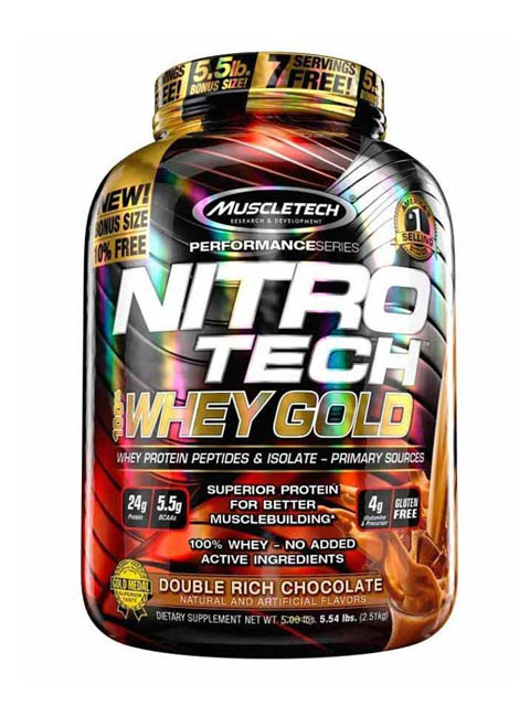 nitro-tech-whey-gold-6lbs chocolate