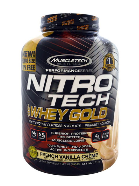 nitro-tech-whey-gold-6lbs vainilla